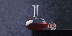 Apple decanter