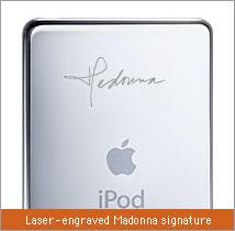 iPod マドンナモデル