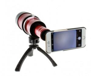 IPhone6用80倍望遠レンズ