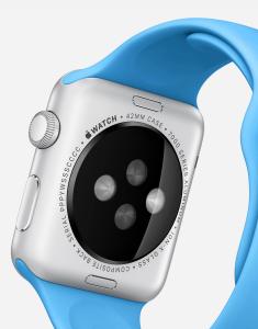 Apple Watch背面