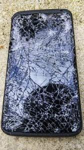 スマートフォン画面割れ