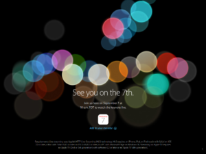 Apple SP Event 2016